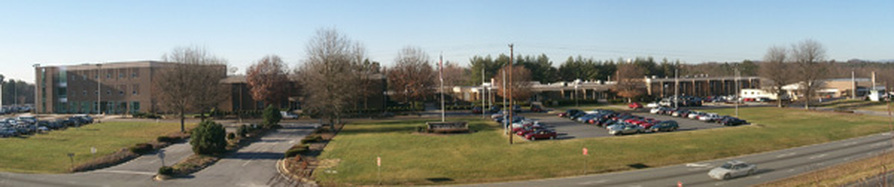 Elevated View of CCC&TI Caldwell Community College and Technical Institute