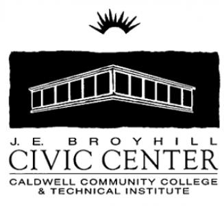 JE Broyhill Civic Center Logo