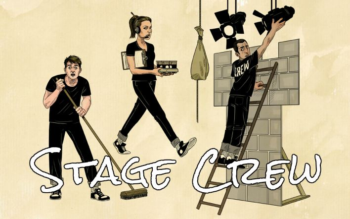 Stage Crew Cartoon